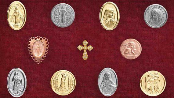 Icona Gioielli religiosi in argento